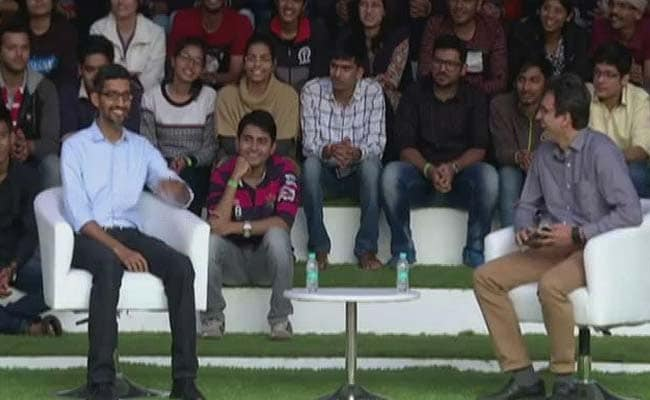 Google CEO Sundar Pichai Interacts With Students At IIT Kharagpur: Highlights