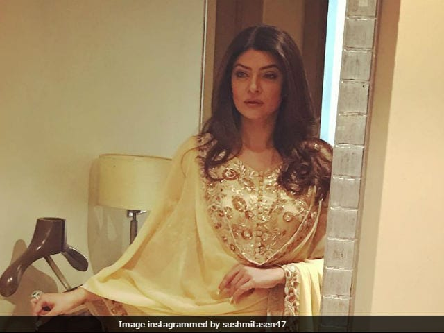 Sushmita Sen At Miss Universe Again. 'This Is For You, India,' She Says