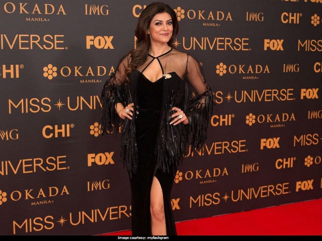 Miss Universe: What Sushmita Sen Wore On The Red Carpet