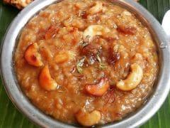 Happy Pongal 2017: How to Make The Delicious Sakkarai (Sweet) Pongal