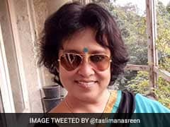 Taslima Nasreen Denied Entry In Aurangabad After Protests Led By Owaisi's AIMIM