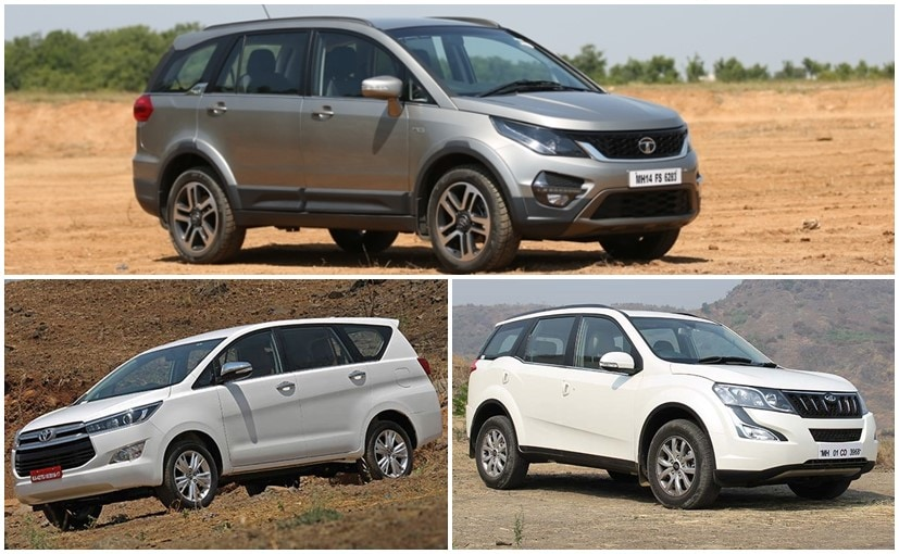 7 Seater Cars In India Ndtv Carandbike