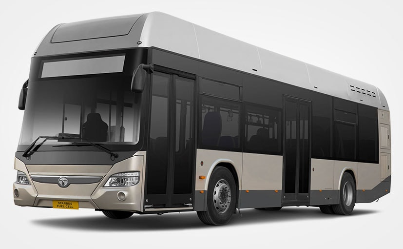 Tata Motors Reveals India's First Hydrogen Fuel Cell Bus