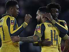 Theo Walcott's Hat-Trick Powers Arsenal Past Southampton in FA Cup