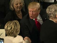 Donald Trump Thanks Hillary Clinton For Attending His Inauguration