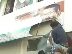 Unhappy Over Election Seats, Congress Workers Vandalise Party Office In Uttarakhand