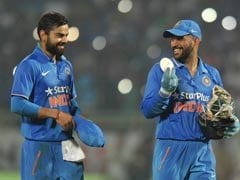 Virat Kohli's Takeaway From ODI Series vs England: A Ball Signed by Dhoni