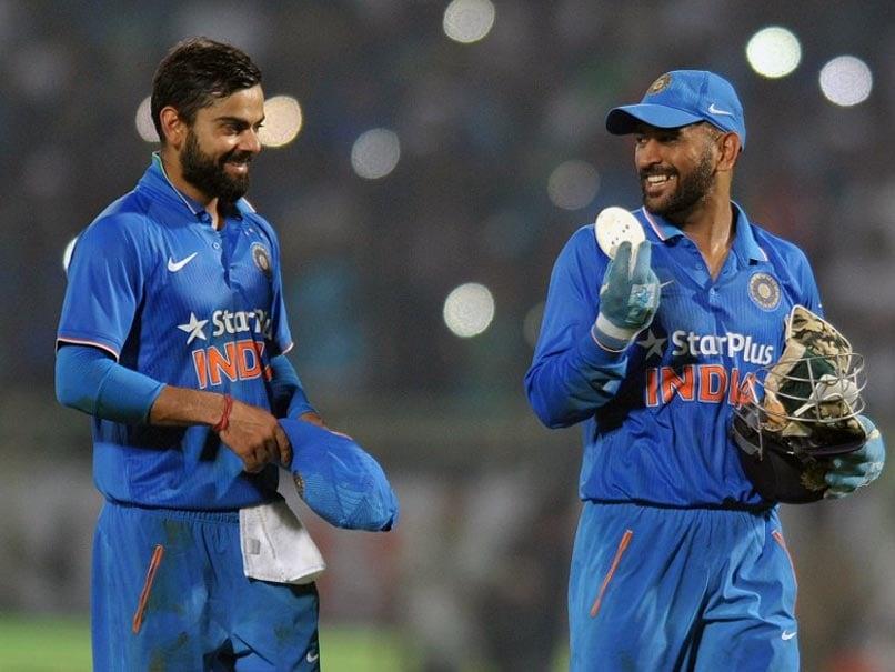 Virat Kohli's Takeaway From ODI Series vs England: A Ball Signed by MS Dhoni