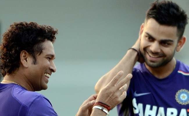 कोहली ने क्रिकेट के भगवान सचिन तेंदुलकर के बारे में दिया बड़ा बयान