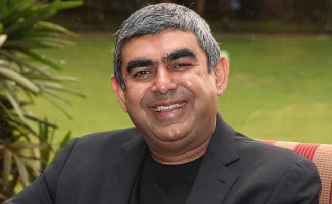CEO Vishal Sikka Thanks Infosys Executive For '9,200 Days Of Awesomeness'