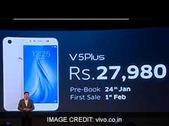 Vivo Launches V5 Plus Smartphone