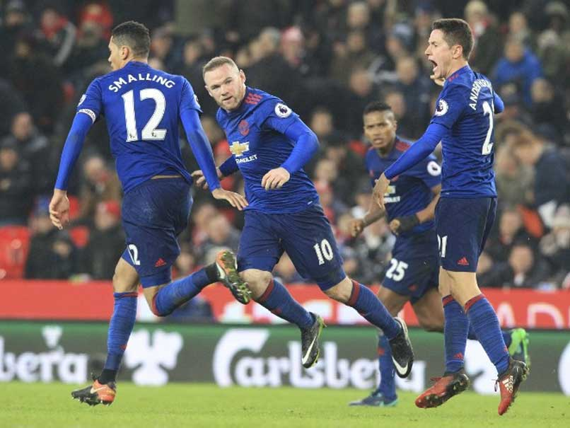 Wayne Rooney Becomes Manchester United's Record Scorer in 1-1 Draw vs Stoke City