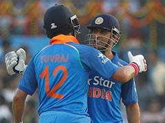 Yuvraj Singh, MS Dhoni Power India to 381/6 vs England