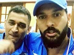 Yuvraj Singh Pays Tribute To MS Dhoni As Captain, Shares Video Highlighting Friendship
