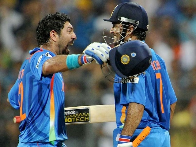"Yuvraj Singh Wishes MS Dhoni On His Birthday With Throwback To ""Epic Partnership"""