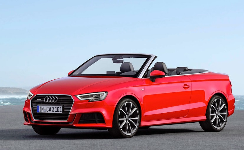 Audi A Cabriolet Facelift Launched In India At Rs Lakh - Audi a3 convertible