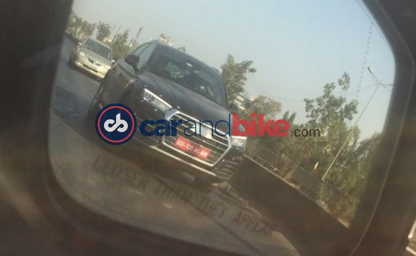 New Generation Audi Q5 Spotted Testing In India; Launch In Second Half Of 2017