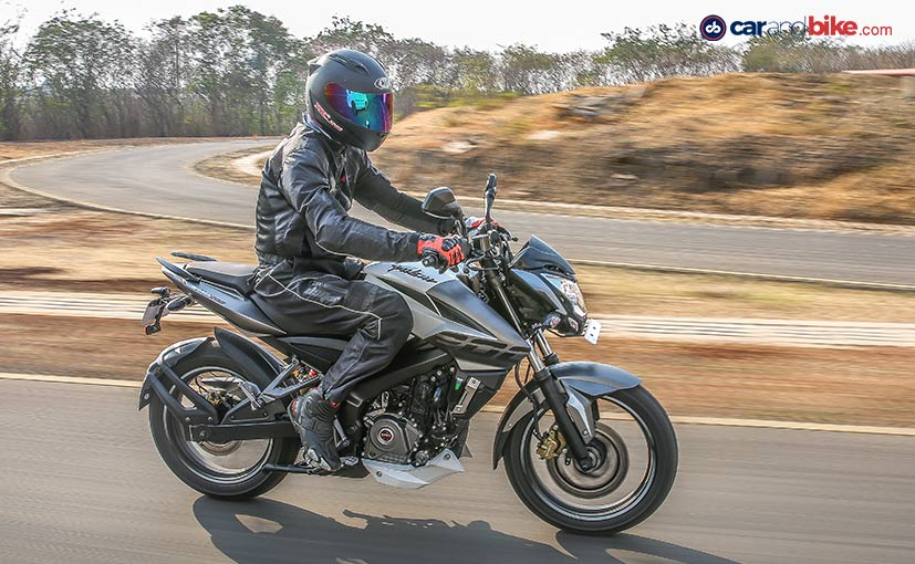 The Bajaj Pulsar NS200 now comes with single-channel ABS as an option