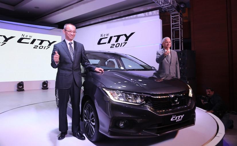 2017 honda city facelift launch