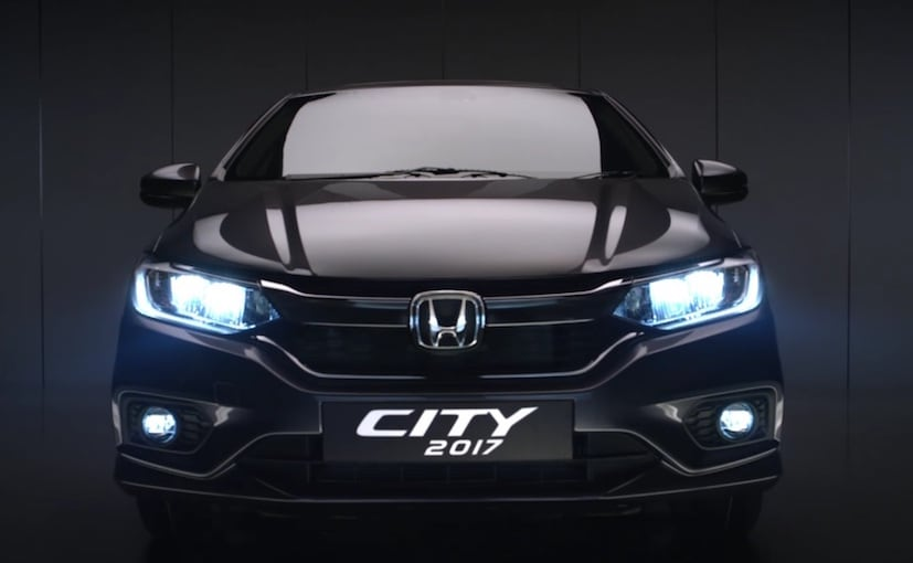 2017 honda city teased ahead of launch in india   ndtv