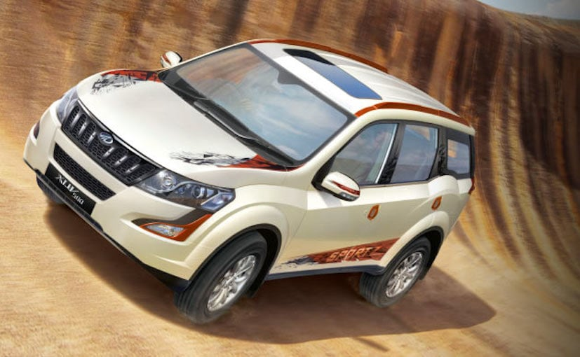 Mahindra Xuv500 Sportz Limited Edition Launched In India