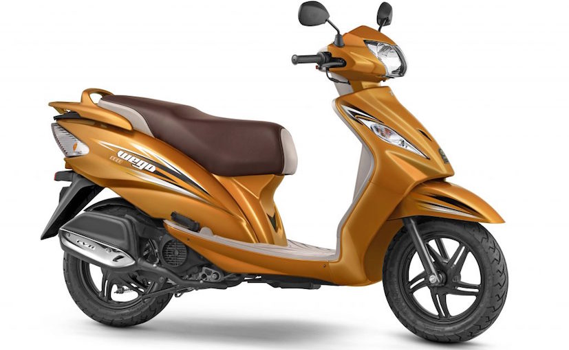 BS IV Compliant 2017 TVS Wego Launched In India At ₹ 50,434