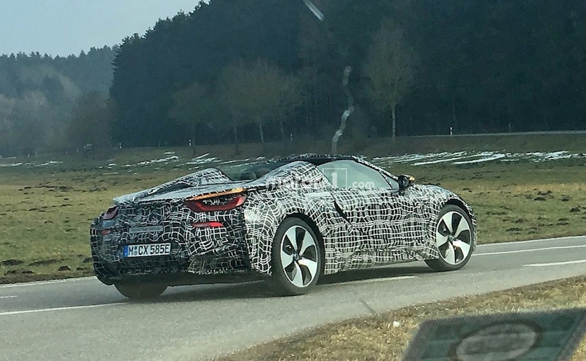 2018 Bmw I8 Spyder Convertible Caught Testing For The First Time