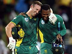 AB De Villiers Gets South Africa Home With A Ball To Spare