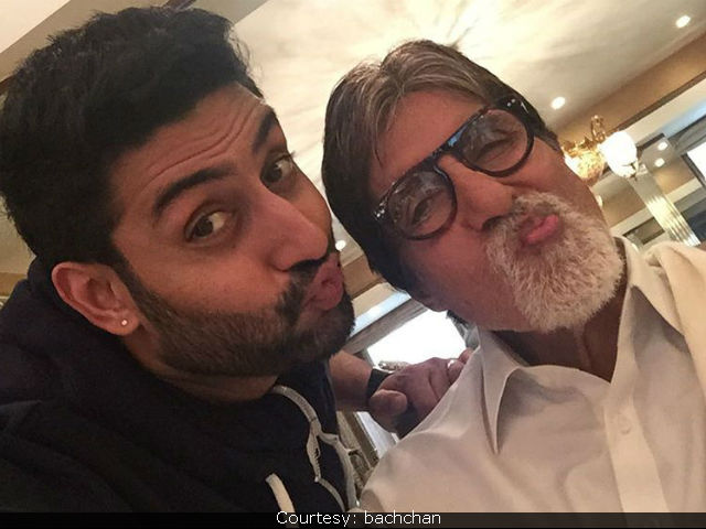 Happy Birthday Abhishek Bachchan: Amitabh Bachchan Shares Nostalgic Picture Of Son