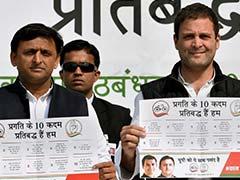 UP Elections 2017: Akhilesh Yadav, Rahul Gandhi Release 10-Point Common Minimum Programme