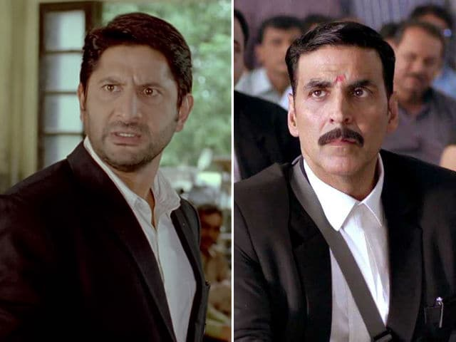 Akshay Kumar Thanks Arshad Warsi For Jolly LLB Compliment (But We're A Little Confused)