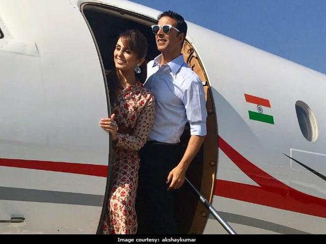 Jolly LLB 2 Ahmedabad Diaries: Akshay Kumar, Huma Qureshi's Jolly Good Time