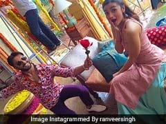आलिया भट्ट के साथ फिल्म करने की खुशी में रणवीर सिंह ने पोस्ट किया कुछ ऐसा फनी वीडियो