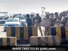 Indian National Lok Dal Activists March Towards Punjab To Dig Sutlej-Yamuna Link Canal