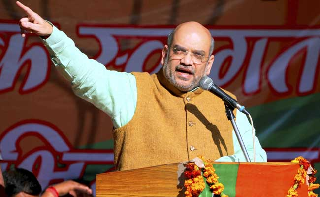 UP Elections 2017: State's 'Achhe Din' Will Begin From 1 PM On March 11, Says BJP Chief Amit Shah