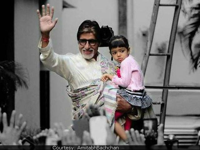 Amitabh Bachchan's Valentine Date With Granddaughter Aaradhya