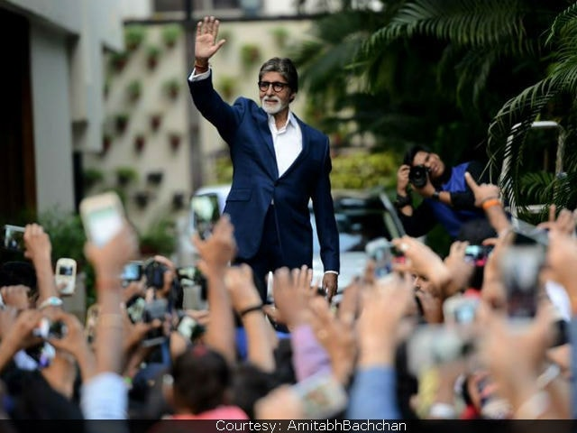 Amitabh Bachchan Writes Nostalgic Post About His 48 Years As An Actor