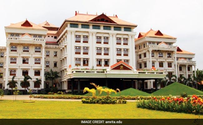 Amrita Vishwa Vidyapeetham's Campus To Come Up In Andhra Pradesh