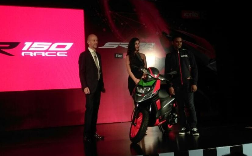 Aprilia SR 150 Race Launched In India At ₹ 70,288