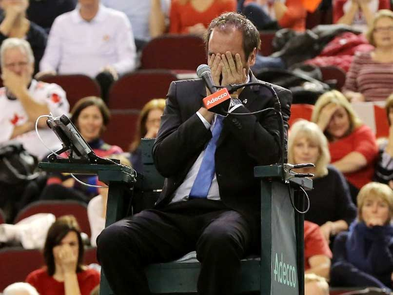 Davis Cup Umpire Hit by Ball Undergoes Surgery On Fractured Eye Socket