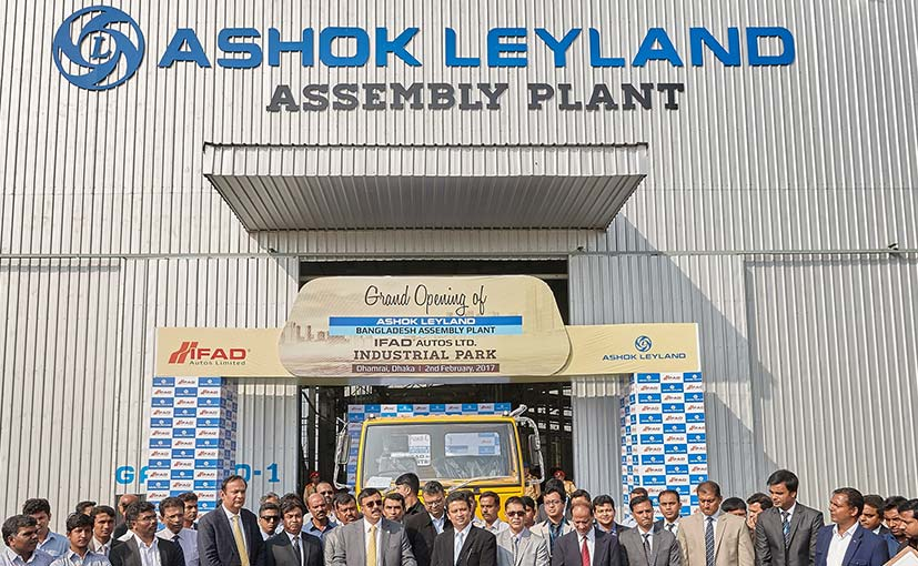 Ashok Leyland To Open Manufacturing Facility In Bangladesh