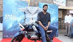 'The Ghazi Attack' Actor Rana Daggubati Buys Bajaj V15 - Made From The Metal Of INS Vikrant