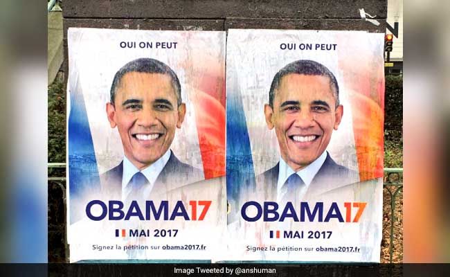 barack obama for french president  he has the best resume  say some voters