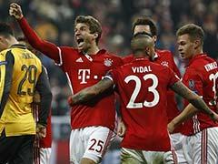 Champions League: Bayern Munich Batter Arsenal, Real Madrid Close In On Last-8 Berth