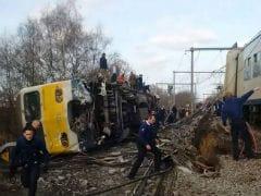 1 Dead, 27 Hurt In Belgium Train Derailment