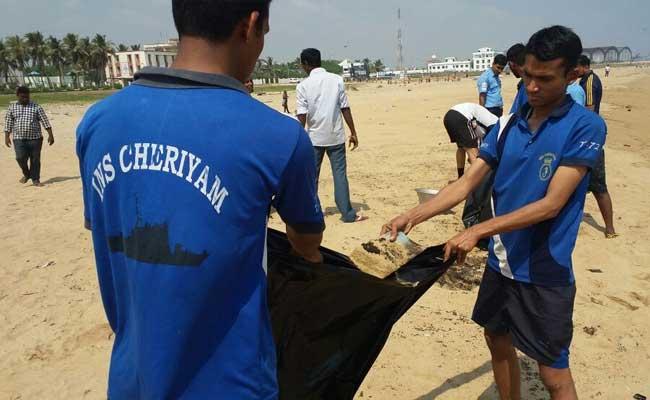 chennai oil spill ops