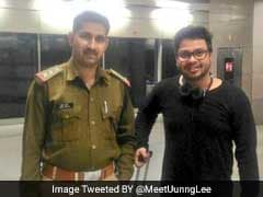 CISF Officer Wins Twitter After Helping Passenger Who Lost Luggage