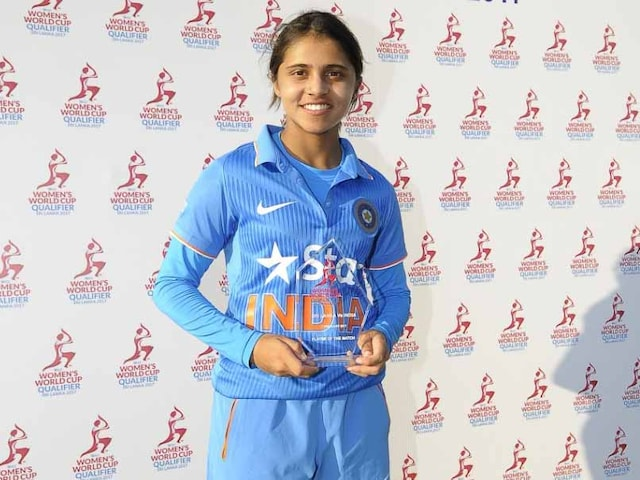 India Start Campaign With Win in ICC Womens World Cup Qualifier