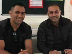 Virender Sehwag Takes Cheeky Dig At MS Dhoni During Pune Test
