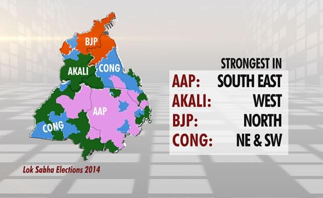 different regions vote